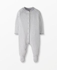 Hanna Andersson Baby Snap Footed Sleeper In Organi