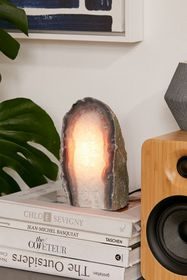Agate Crystal Table Lamp