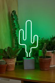 Cactus Neon Table Lamp