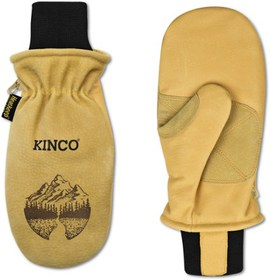 Kinco Lined Heavy-Duty Premium Grain and Suede Pig
