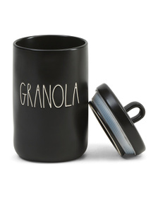 Granola Loop Lid Canister
