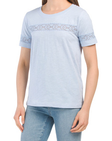 Pier Tee With Texture Detail