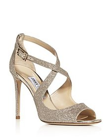 Jimmy Choo - Women's Emily 100 Crisscross High-Hee