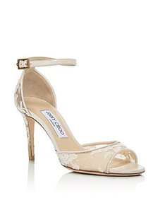 Jimmy Choo - Women's Annie 85 Ankle-Strap Pumps -
