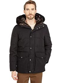 "Cole Haan 31.5"" Sport Down Hooded Parka"