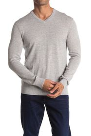 Theory Riland Wool Blend V-Neck Sweater
