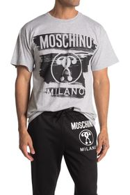 MOSCHINO Painted Logo T-Shirt