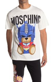 MOSCHINO Logo Cartoon T-Shirt