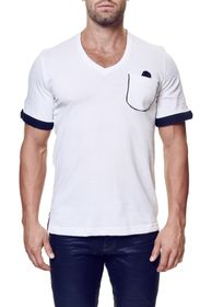 Maceoo V-Neck Contemporary Fit Tee