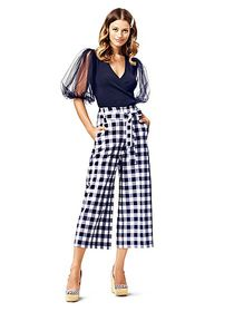 Madie Wide-Leg Capri Pant - 7th Avenue - New York