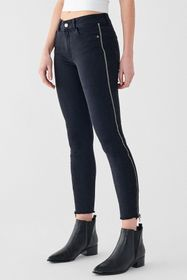 DL1961 Florence Cropped Mid Rise Jeans