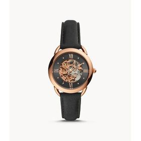 Fossil Fossil Tailor Automatic Black Dial Ladies W