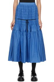 Molly Goddard - Blue Donnika Skirt