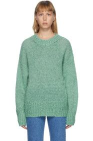Isabel Marant - Green Mohair Estelle Sweater