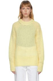 Isabel Marant - Yellow Mohair Estelle Sweater