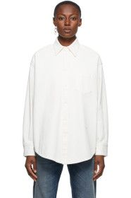 MM6 Maison Margiela - Off-White Bull Circle Shirt