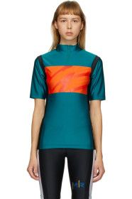 Martine Rose - SSENSE Exclusive Green Cycling T-Sh