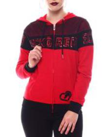 Ecko Red ecko cropped popover hoody