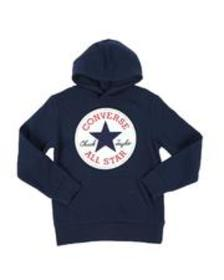 Converse chenille logo pullover hoodie (8-20)