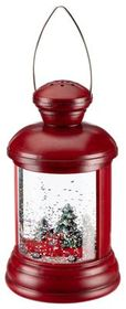 Bass Pro Shops Lighted Red Truck Lantern Snow Glob