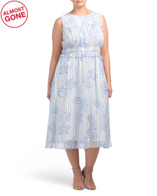 Plus Forget Me Not Dress