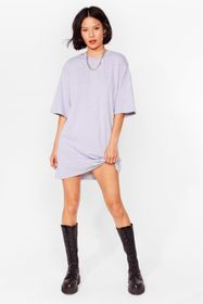 Nasty Gal Ash Tell Tee About It Relaxed Mini Dress