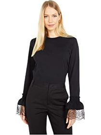 See by Chloe Embellished Long Sleeve T-Shirt
