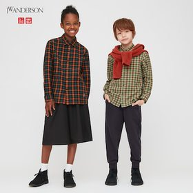 Kids Flannel Checked Long-Sleeve Shirt (Jw Anderso