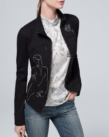 35th Anniversary Embroidered Moto Jacket