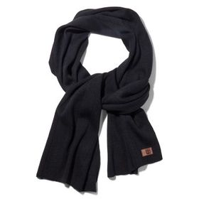 Timberland Men's Heathered Ribbed Scarf