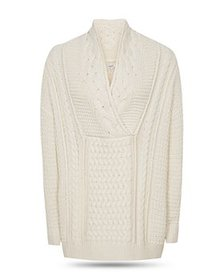 REISS - Ali Cable Knit Sweater
