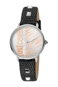 Just Cavalli Women's Animal Leather Strap Watch &