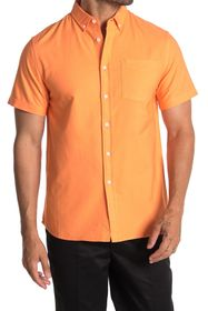 SATURDAYS NYC Esquina Short Sleeve Oxford Shirt