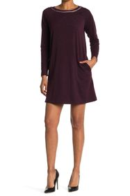 Max Studio French Terry Swing Dress