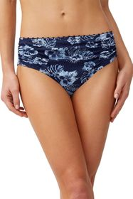 Tommy Bahama Chambray Blossoms High-Waist Bikini B