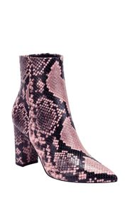 Marc Fisher LTD Ulani Embossed Pointed Bootie