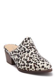 Chinese Laundry Catherin Leopard Heel Mule