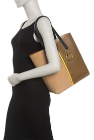 See By Chloe Gaia Two-Tone Leather Tote Bag