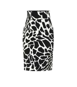 Alexandre Vauthier Printed stretch-jersey pencil s