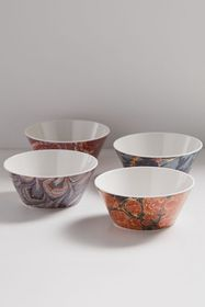 Siren Song Agate Cereal Bowl - Set Of 4