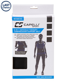 CAPELLI SPORT Women's 2-in-1 Hot And Cold Therapy