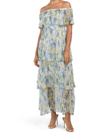OPT Malo Tiered Dress