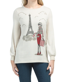 COLOR TREE Shopping In Paris Hacci Tunic