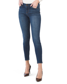 D. JEANS High Waist Recycle Denim Skinny Jeans