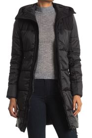 G-STAR RAW Quilted Hooded Puffer Jacket