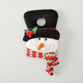 4 Seasons Snowman Holiday Door Hanger