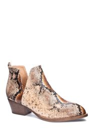 Chinese Laundry Cherish Snakeskin Embossed Ankle B