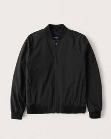 Traveler Bomber Jacket, BLACK