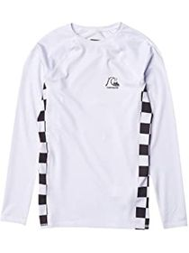 Quiksilver Kids Check This Long Sleeve Rashguard (