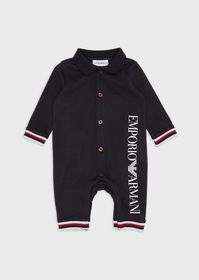 Armani Baby suit with logo and trims